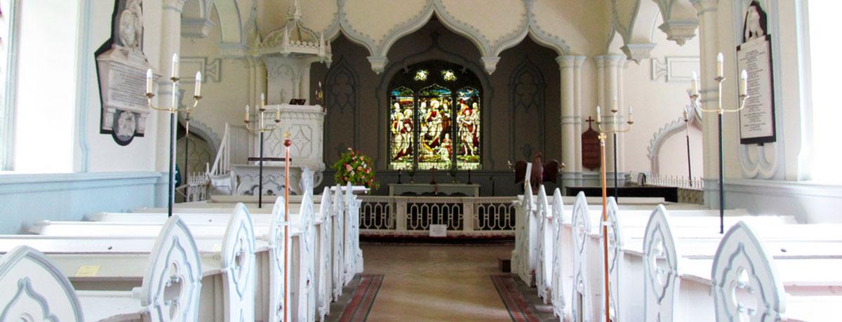 Restored interior